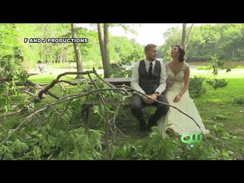 Mike Perry - Timber! Newlyweds Nearly Hit By Falling Tree!