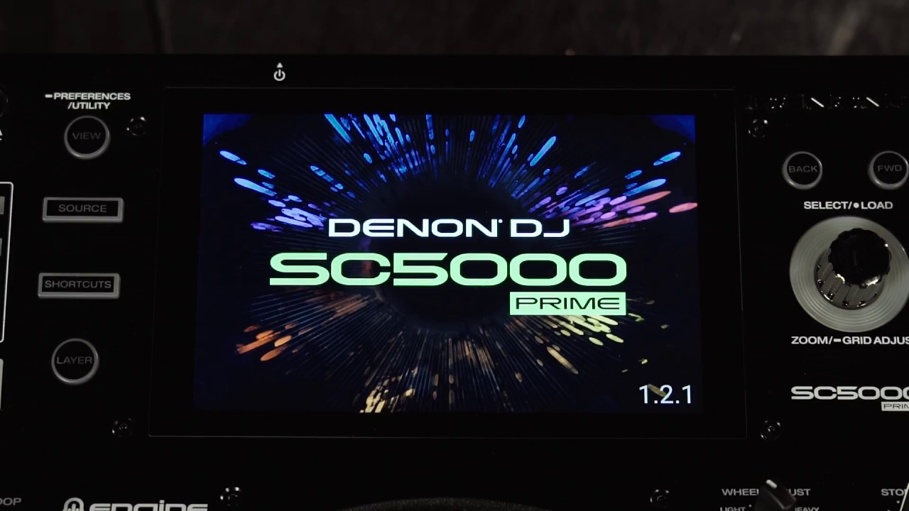 How to Update the Denon DJ Prime Series Media Player Firmware via USB or SD