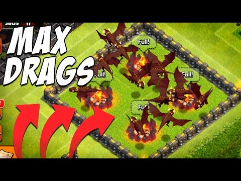 level 5 dragons clash of clans videos animation