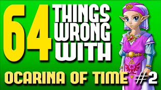 One of Really Freakin' Clever's most viewed videos: 64 Things WRONG With Ocarina of Time: Part 2