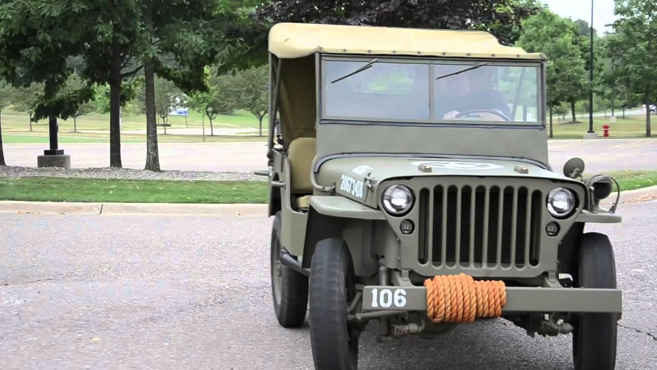 1941 Willys Mb Jeep Aol Autos Youtube Station Wagon
