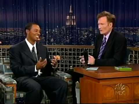 Conan O'Brien 'Tiger Woods 9/21/04