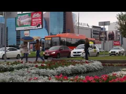 Выход на линию газовых автобусов в Набережных Челнах 07.09.15г.