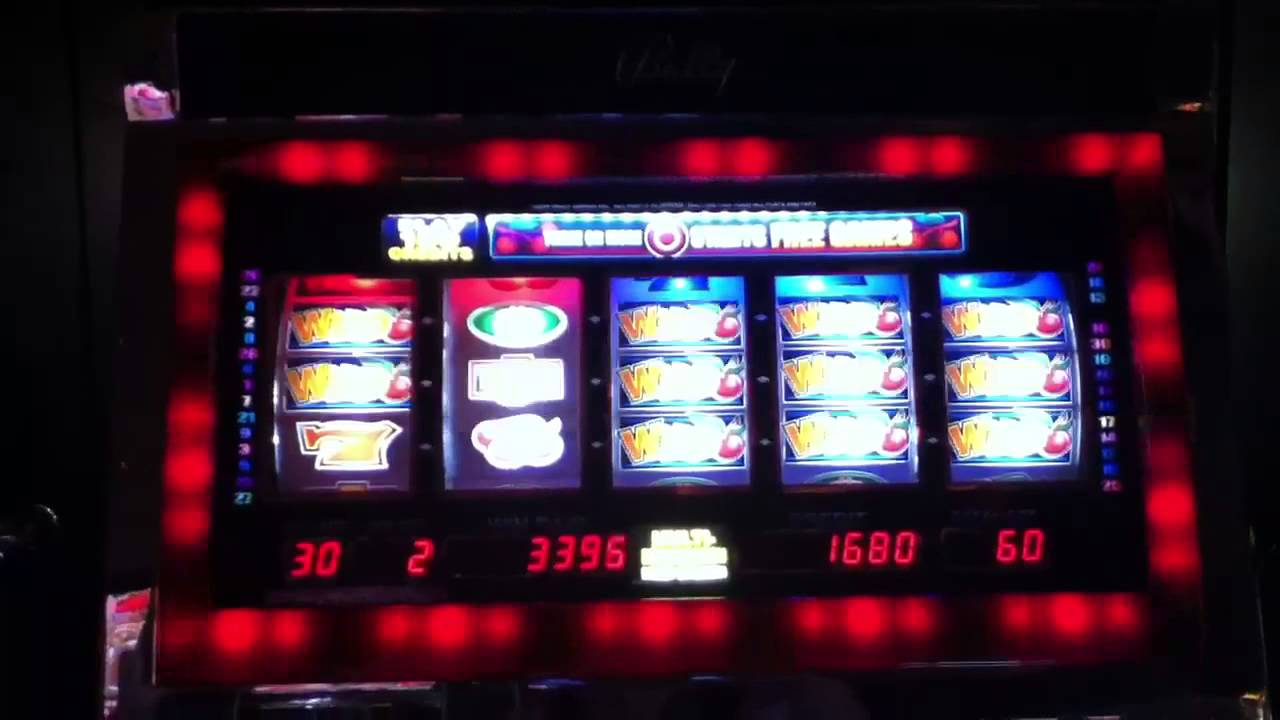 Bullseye Bonus Slot Machine
