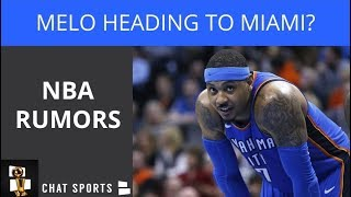 NBA Rumors: Carmelo Heading To Miami, Curry Pumped About Cousins, Capela Rejects Houston's Offer