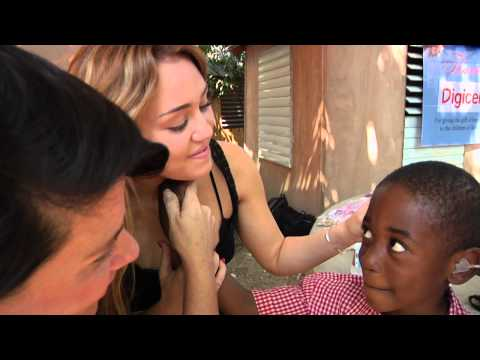 Hearing Loss. The Miley Cyrus Haiti Mission Trailer