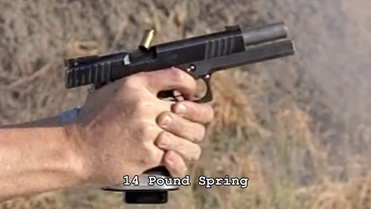 Tuning Your Pistol with Recoil Springs