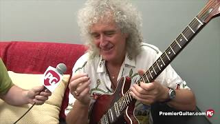 Why Brian May Uses a Sixpence