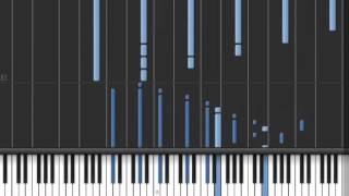 Repeat youtube video Descent Into Madness Synthesia Piano