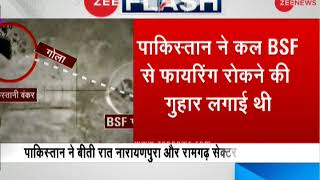 Breaking News: Pakistan resumes firing along LoC in Kashmir hours after 'pleading' with BSF to stop