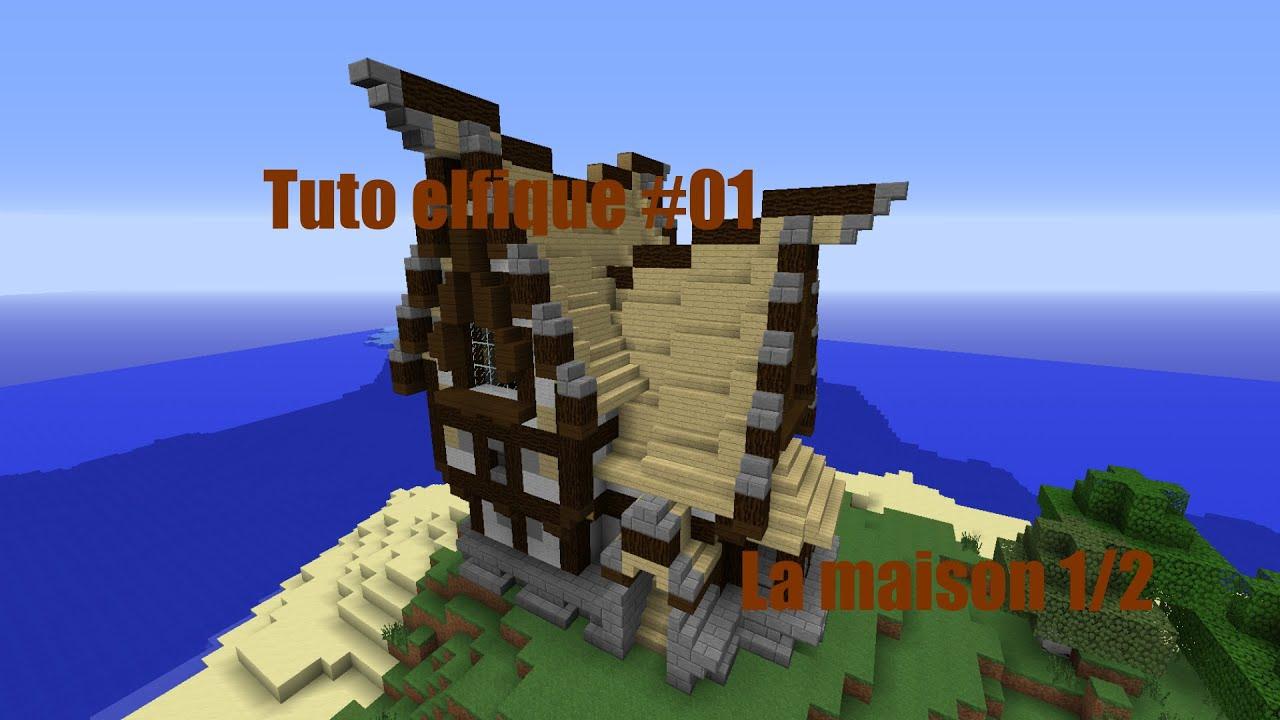 Minecraft Construire Un Village Elfique De A à Z 01 La