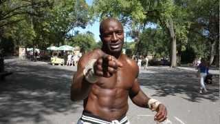 Amongst the best gymnast backflips - Powerhouse Backflips in Central Park - New York City