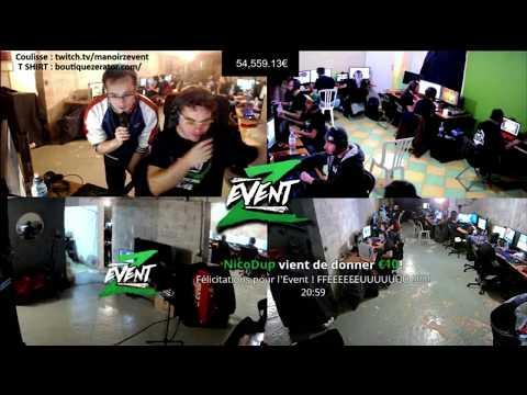 #ZEvent : Résumé de l'évènement avec les clips twitch