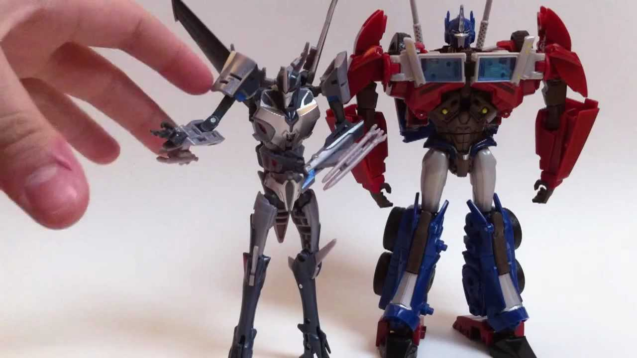 Figurine Transformers Prime Véhicule et Legion Beast Hunter : Sky Claw Vehicle