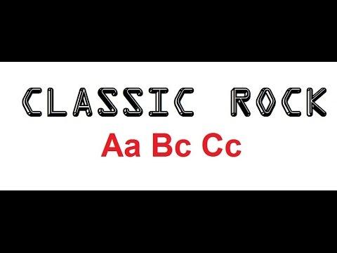 ABC Classic Rock Version  Classic Rock ABC's