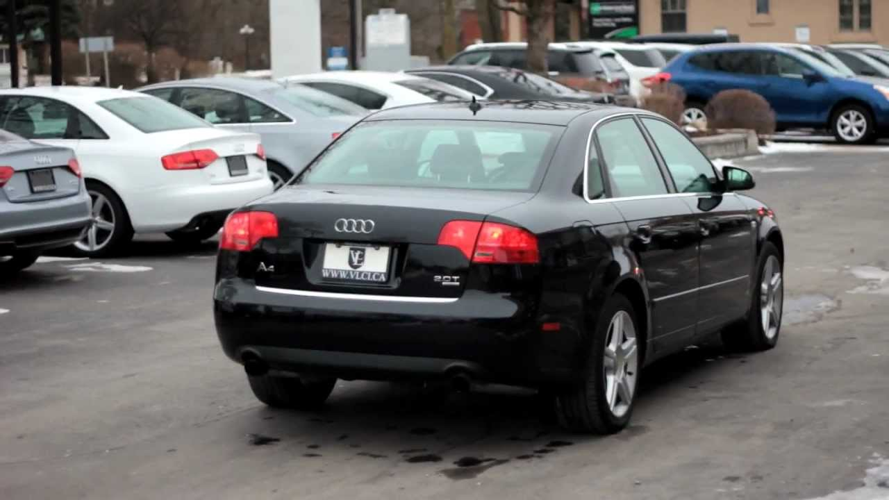 2007 audi a4 2.0t - village luxury cars toronto - youtube
