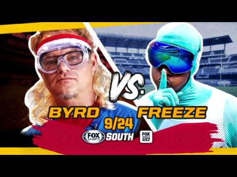 Paul Byrd vs. The Freeze on FOX Sports South: Training Montage