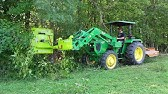 You've never seen a brush hog like this! Front Mount brush cutter for Your Tractor!