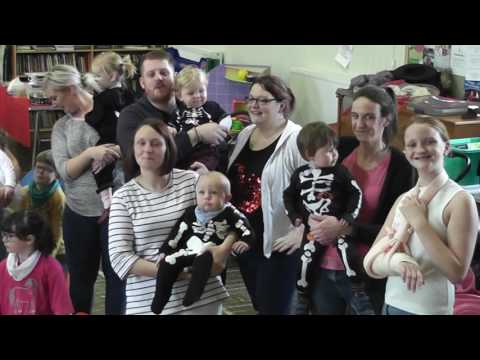 Kirkcudbright  Mum's & Tots Halloween Party 2016