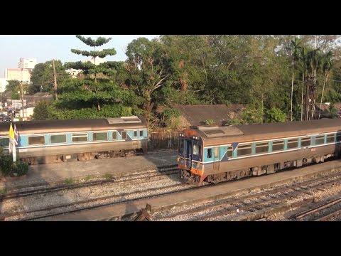 รถไฟไทย สายใต้ : ด่วนพิเศษดีเซลรางที่ 42 ยะลา-กรุงเทพฯ ผ่านโค้งเข้าชุมทางหาดใหญ่