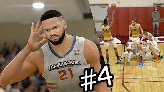 NBA Live 18 The One Career Mode - 1st ProAM Game! Teammate Ankle Breaker! Ep. 4