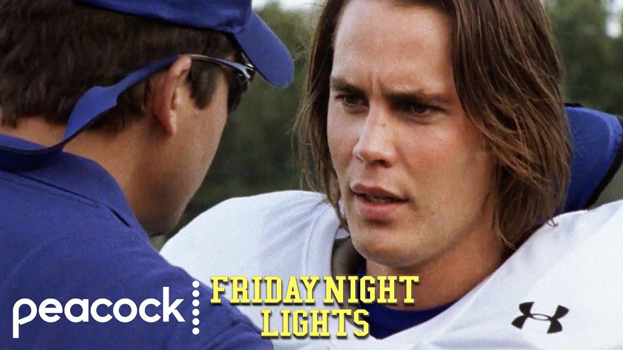 Riggins Returns To Practice   Friday Night Lights