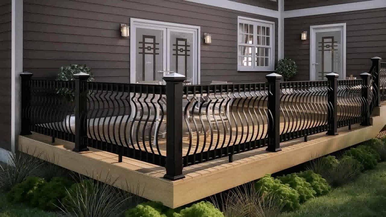 Balcony Railing Design Wooden (see description) - YouTube