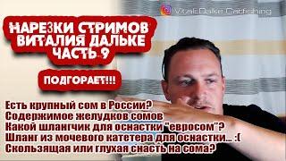 Ловля сома Ответы на вопросы Часть 9 нарезки стримов Виталия Дальке