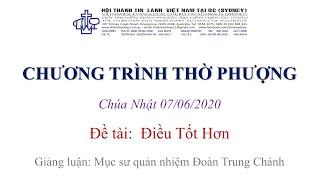 HTTL KINGSGROVE (Úc Châu) - Chương trình thờ phượng Chúa - 07/06/2020