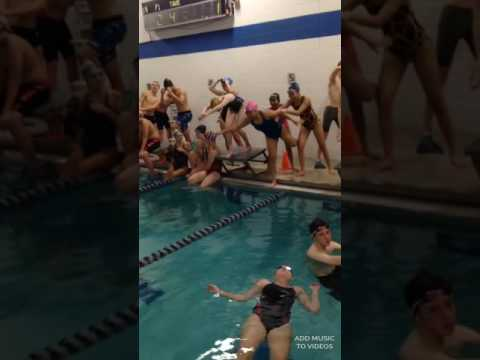 Cookeville High School and Upperman Swim Team Mannequin Challenge