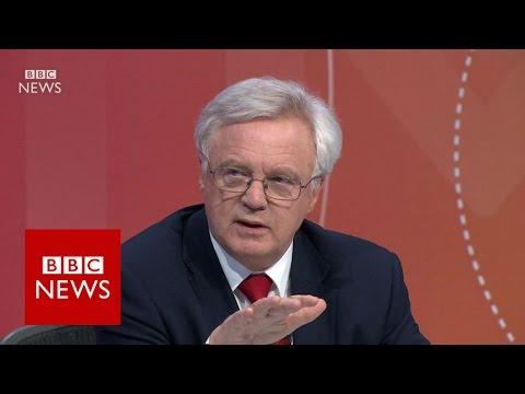 "David Davis: ""British people will not be bullied""  BBC News"