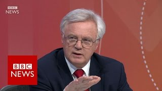 "David Davis: ""British people will not be bullied""  BBC News"