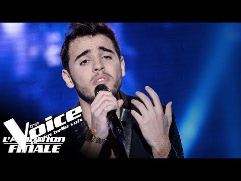 Louane - Si t'étais là   Abdel   The Voice France 2018   Auditions Finales