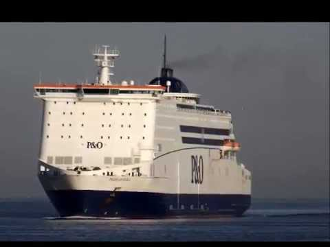 Pride of Hull - P&O ferries - Cliffhanger Theme
