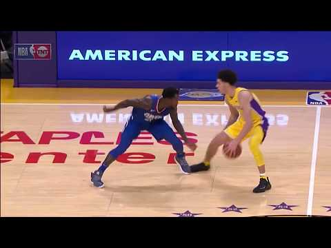 Lonzo Ball vs Patrick Beverley – Beverley mocks Lonzo, but gets revenge with crossover!