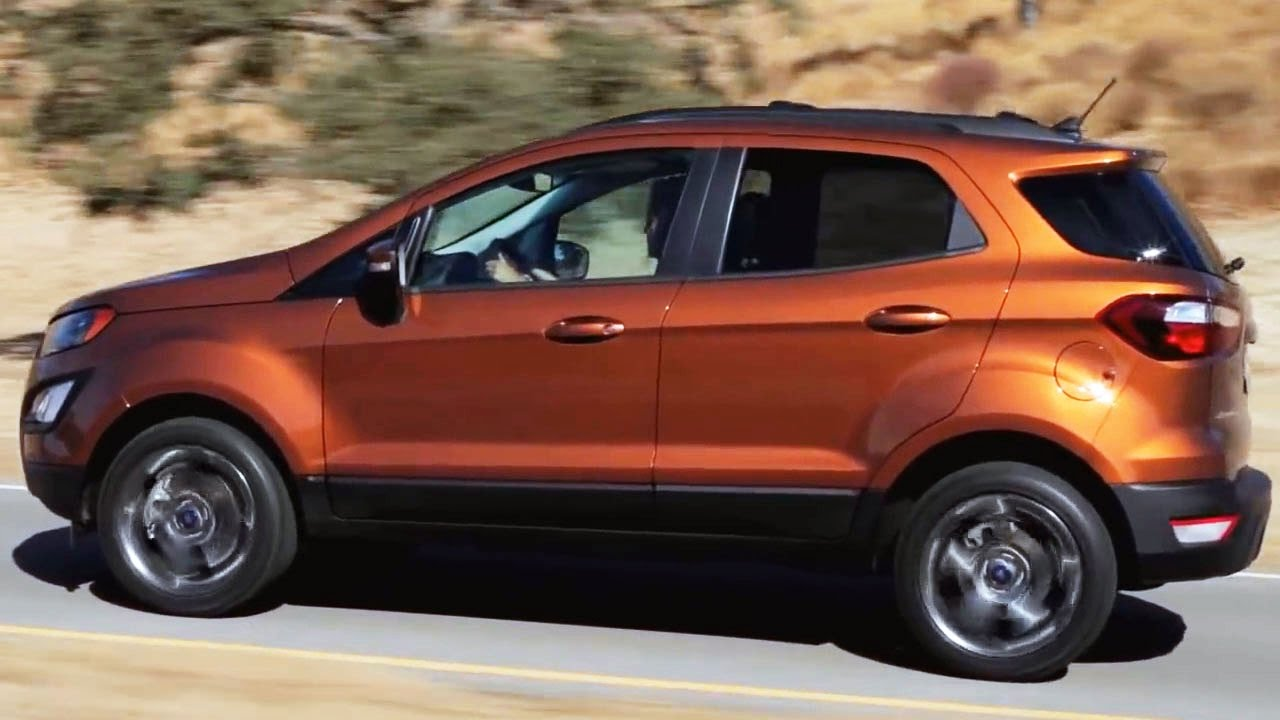 2018 Ford EcoSport SES Interior, Exterior and Test Drive ...