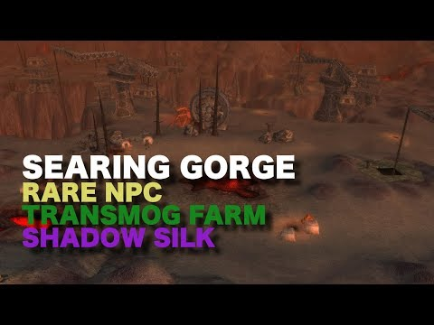 Double Farm Transmogs and Shadow Silk and other Crafting Items (Rare NPC Farm)