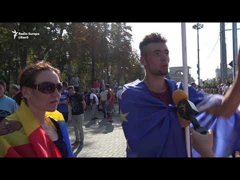 De vorbă cu oamenii de Ziua Independenţei Republicii Moldova