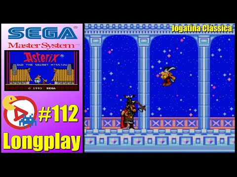 Master System Longplay Astérix and the secret mission - All levels