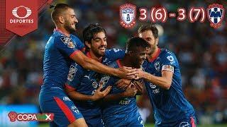 ¡Rayados en la final! | Pachuca 3 (6) - (7) 3 Rayados | Copa MX - Semifinal | Televisa Deportes