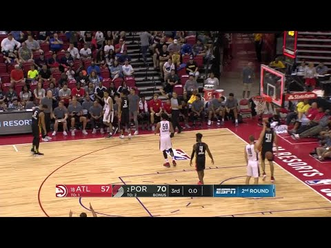 3rd Quarter, One Box Video: Portland Trail Blazers vs. Atlanta Hawks