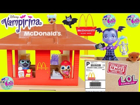 vampirina mailed herself to McDonalds drive thru