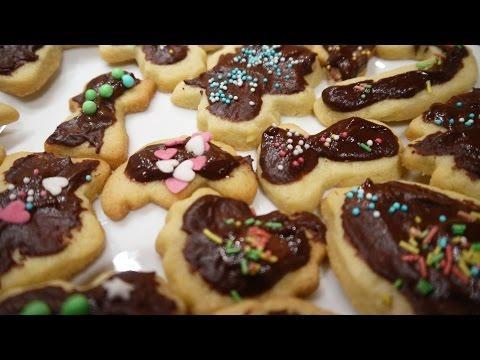 Kinder Kekse schnell + einfach Plätzchen backen - Weihnachten vorbereiten Tipps
