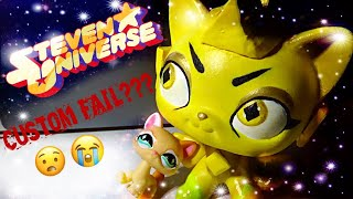 LPS: Steven Universe Yellow Diamond Custom...FAIL?