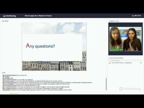 How to apply for a Master in France - Join a school in France