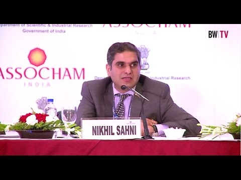 """Nikhil Sahni of Yes Bank on 'Policy For Innovation Strategy and Roadmap for """" Make in India"""""""