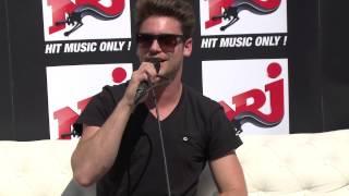 Bastian Baker - Interview partie 1 NRJ Music Tour - Bruxelles