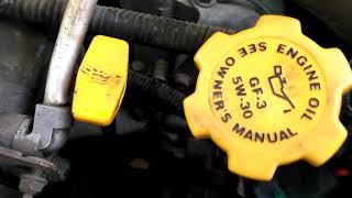 звон в двигателе субару