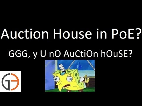Auction House in PoE: The Great Debate