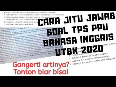 cara-jitu-jawab-tps-bahasa-inggris-(ppu)-utbk-2020
